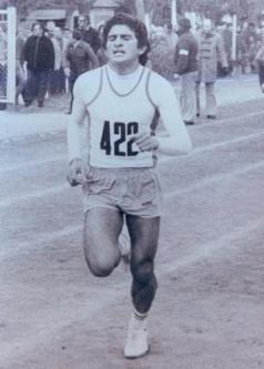 Miguel Sánchez, atleta homenajeado.