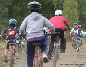 Escuela Infantil de Ciclismo de El Bolson 2014.