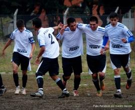 La cuarta de Torino festejando su segundo gol en el clásico bolsonese.