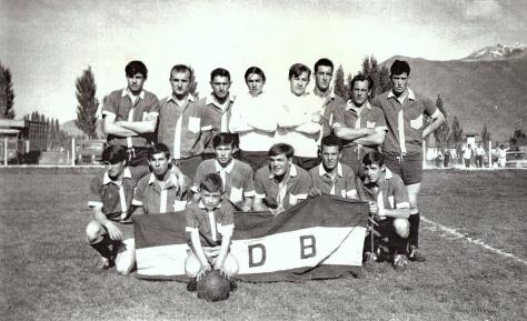 Equipo de Martín Güemes de El Bolsón de los '70.
