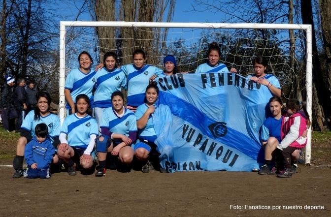 Yupanqui es el nuevo campeón del fútbol femenino comarcal