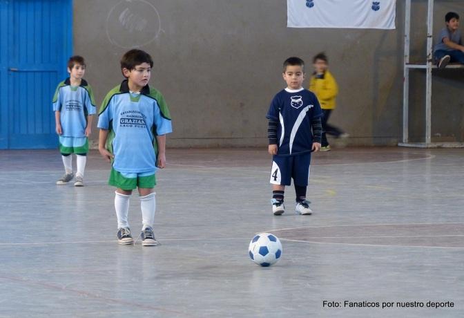 Dos grandes goleadas en el segundo fin de semana del torneo de salón infantil