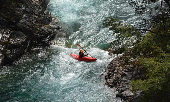 Curso de kayak en Al Agua Todos