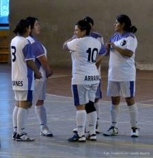 Arrayanes en el 5to Torneo Patagónico de futsal de El Bolsón.