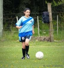 Fabrina Mancilla, la 10 de Yupanqui.