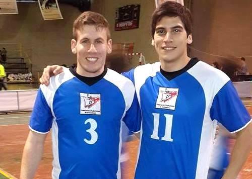 Schwartzman y López Mon, dos referentes del handball de El Bolsón