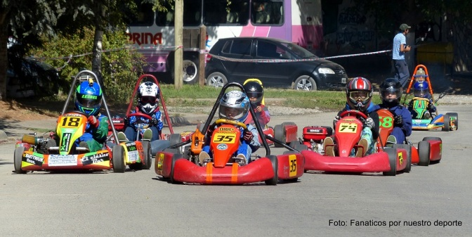 Los karting de la región vuelven a girar en El Bolsón