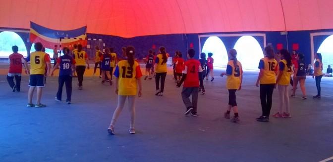 Los chicos de El Bolsón y Lago Puelo jugaron en la nueva globa