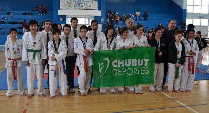 Chubut evaluó a los futuros taekwondistas nacionales