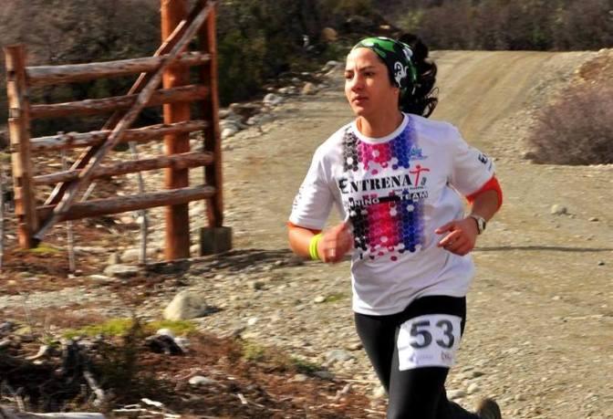 Florencia Gartner, la más rápida del Cross Aventura de Bariloche