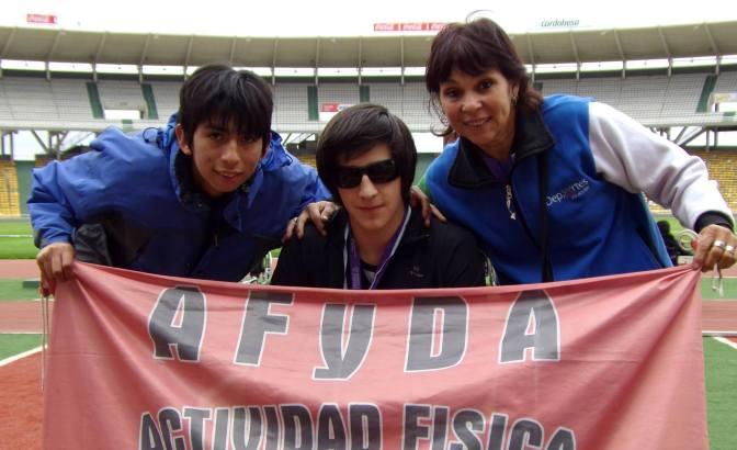 Cuatro oros y una plata para Afyda en Córdoba