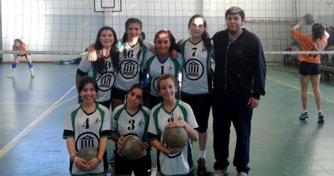 Las chicas de El Bolsón hicieron podio en la Liga de Menores