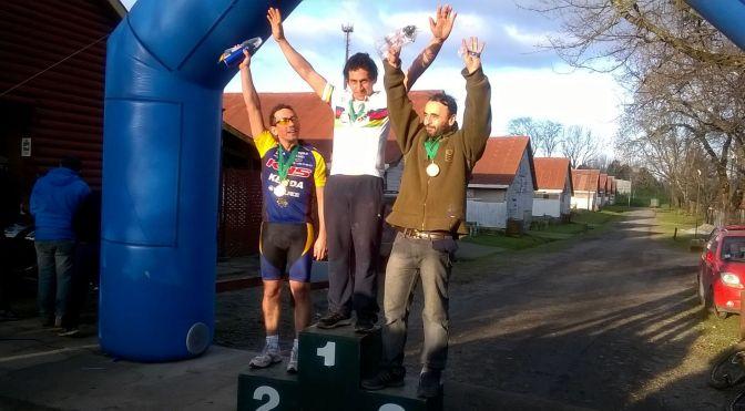 Almonacid fue campeón en Chile