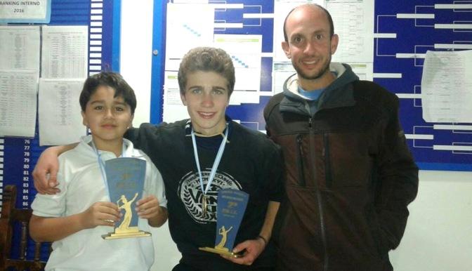 Tres campeones comarcales en tierras madrynenses