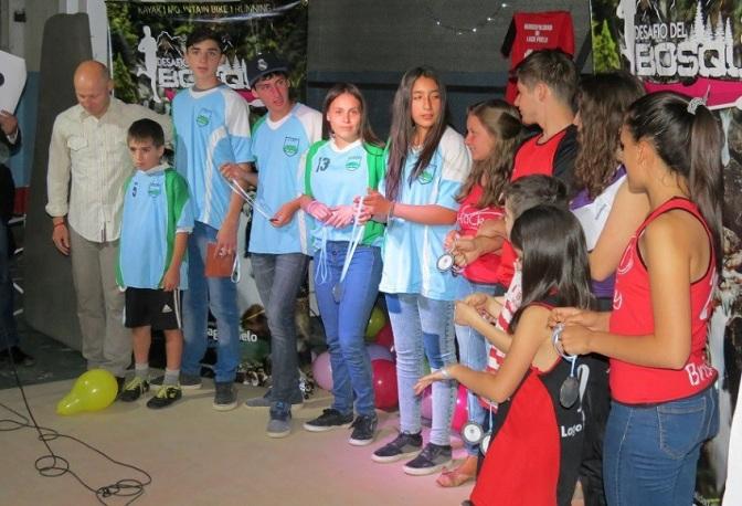 Jacob Mansilla es el deportista del año de Lago Puelo