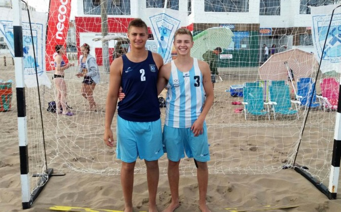 Giordano y Panasiuk van por el mundial Juvenil