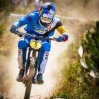 Baez hizo podio en la IXS Downhill Cup