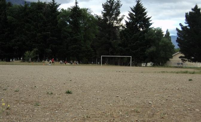 Resultado de imagen para cancha de futbol del club union del sur de el bolson