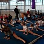 Campus gimnástico internacional en El Bolsón