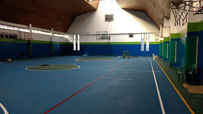 Nuevas obras en el gimnasio municipal de El Bolsón