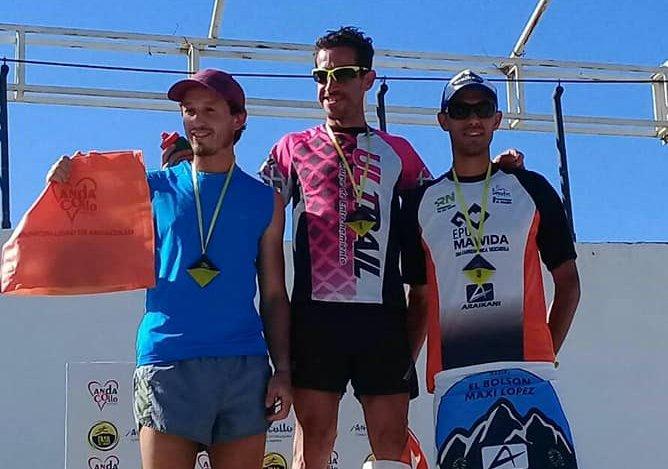 López hizo podio en el Trail del Viento