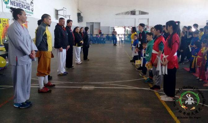 Gran actuación del equipo Shaolin de El Bolsón