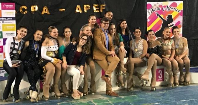 El Hoyo se llenó de podios en el Provincial de Chubut