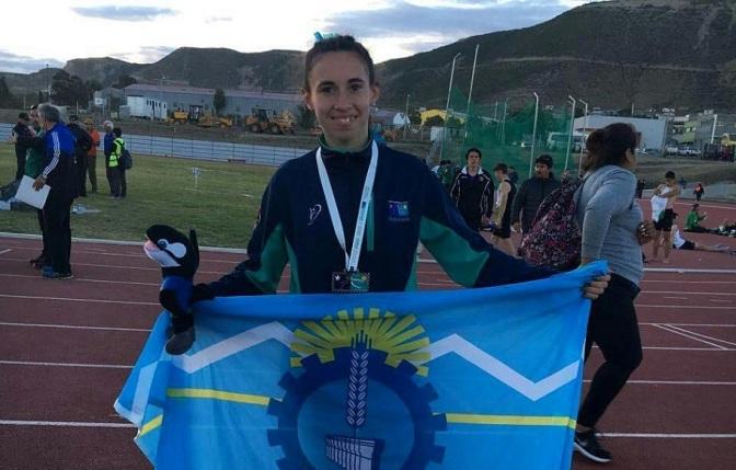 Luna campeona de salto triple en la Araucanía