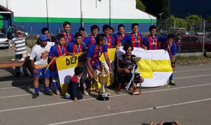 Deportivo Chop campeón de Afuca