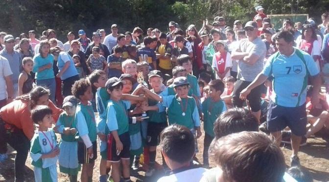 Afca cerró el año con una fiesta futbolera en Lago Puelo