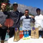 Márquez y Meister ganaron el dobles del pueblo