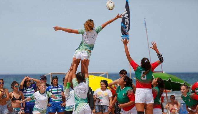 El deporte copó las playas rionegrinas