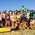 Palistas disfrutaron del encuentro de canotaje en Villa Regina