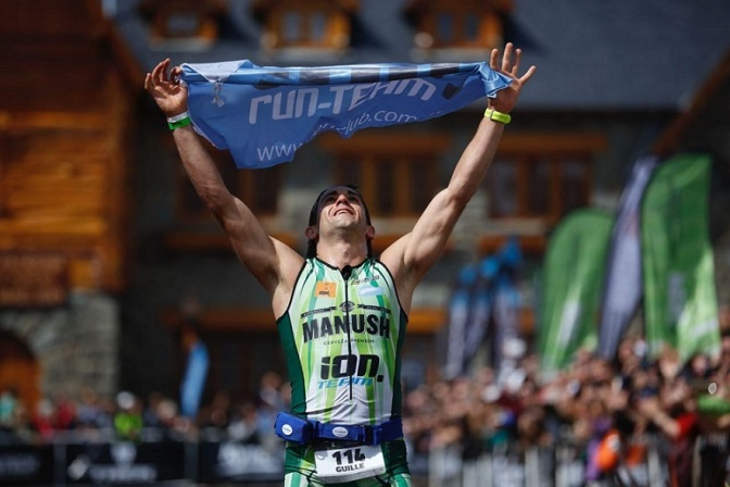 Seis comarcales se le animaron al Ironman de Bariloche