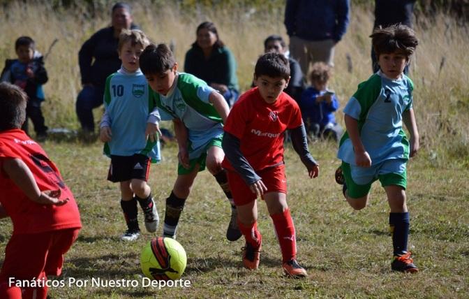Mallín Ahogado disfrutó de los chicos de Afca