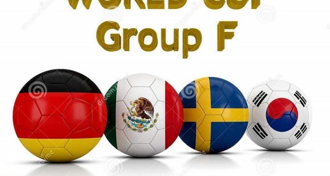 El Grupo F con la gran candidata Alemania