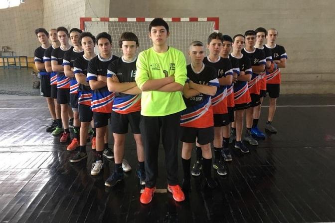 Menores de El Bolsón 8vos en el Nacional de Clubes