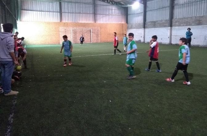 Afca jugó en la Comarca Andina