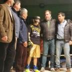 Narváez dio una clínica en El Maitén
