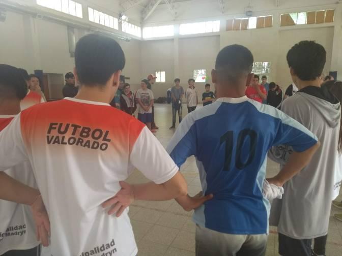 Encuentro regional de fútbol valorado