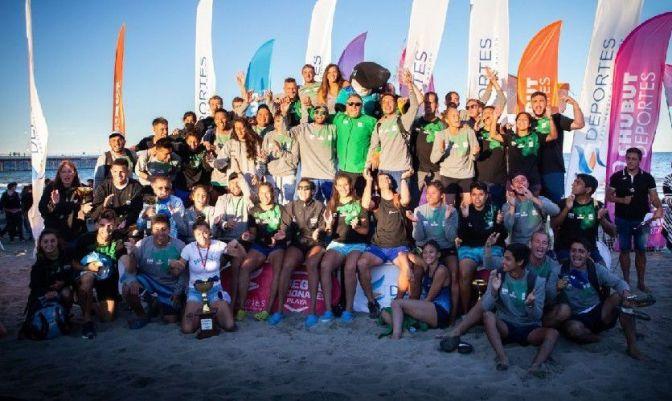 Rio Negro hizo podio en los Nacionales de Playa