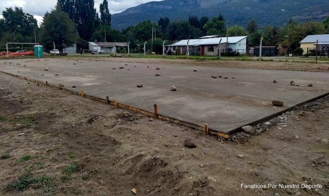 Obras deportivas en los barrios de El Bolsón