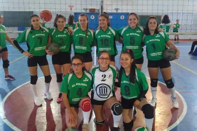 Gran actuación de la Sub17 femenina de El Bolsón