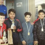 Cuatro campeones comarcales en Trelew