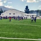 Ortega inauguró el Estadio Municipal de Lago Puelo
