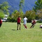 Huemules recibió el rugby femenino de la URLS