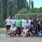 Las campeonas llegaron de Jujuy